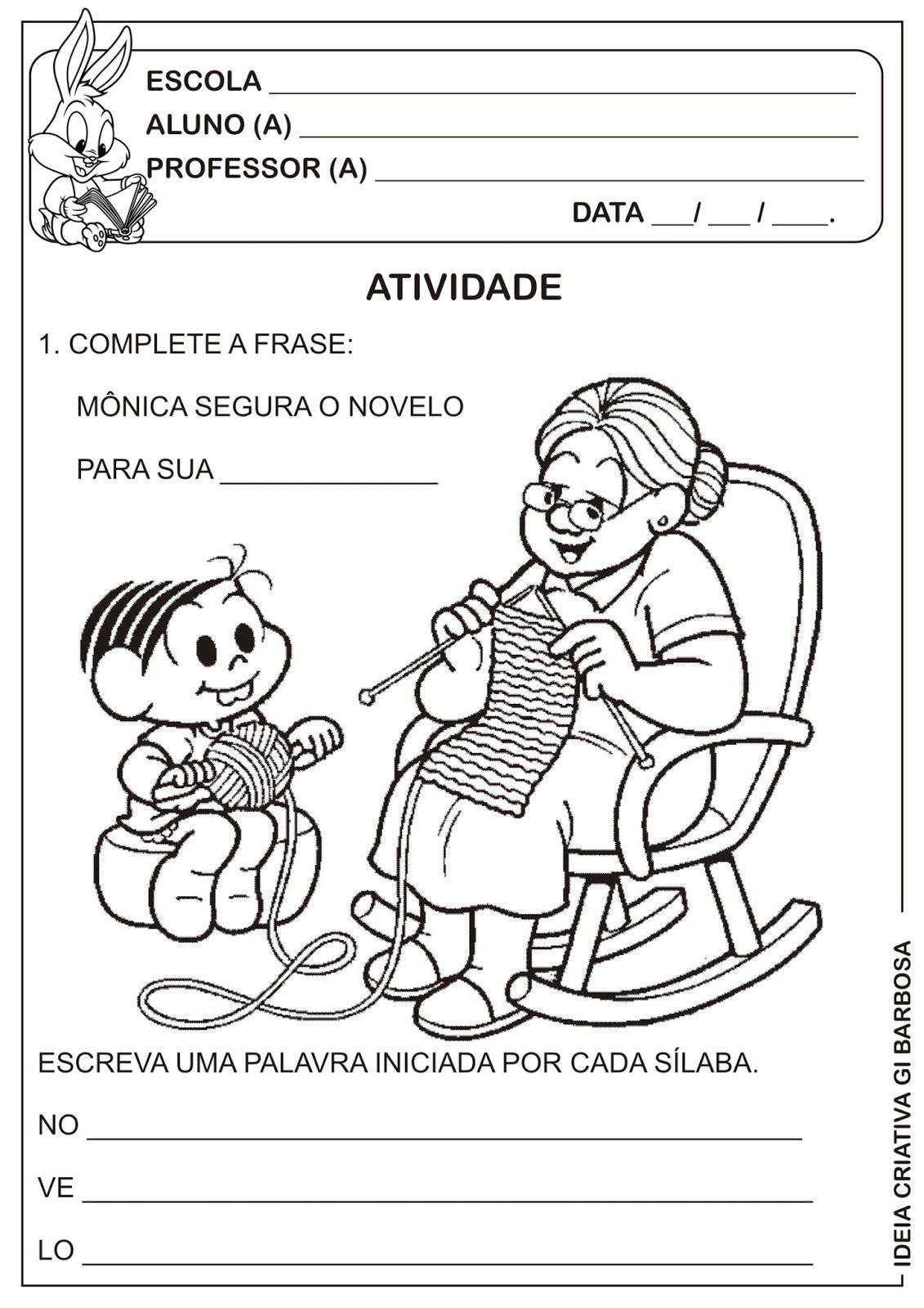 Muito Atividade Dia dos Avós | Ideia Criativa - Gi Barbosa Educação  TC45