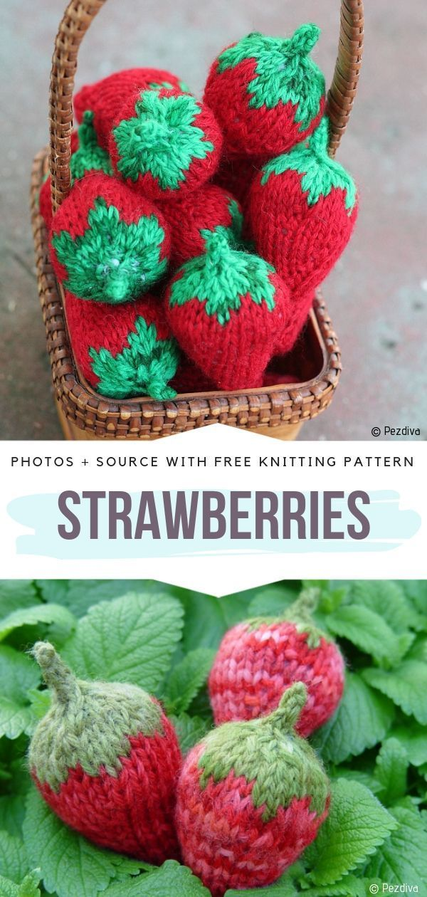 Fruity Knits Free Patterns