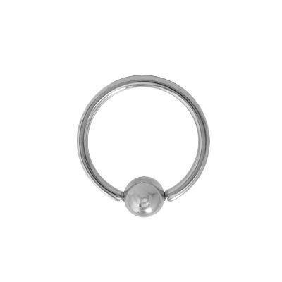 18g Titanium Captive Bead Ring