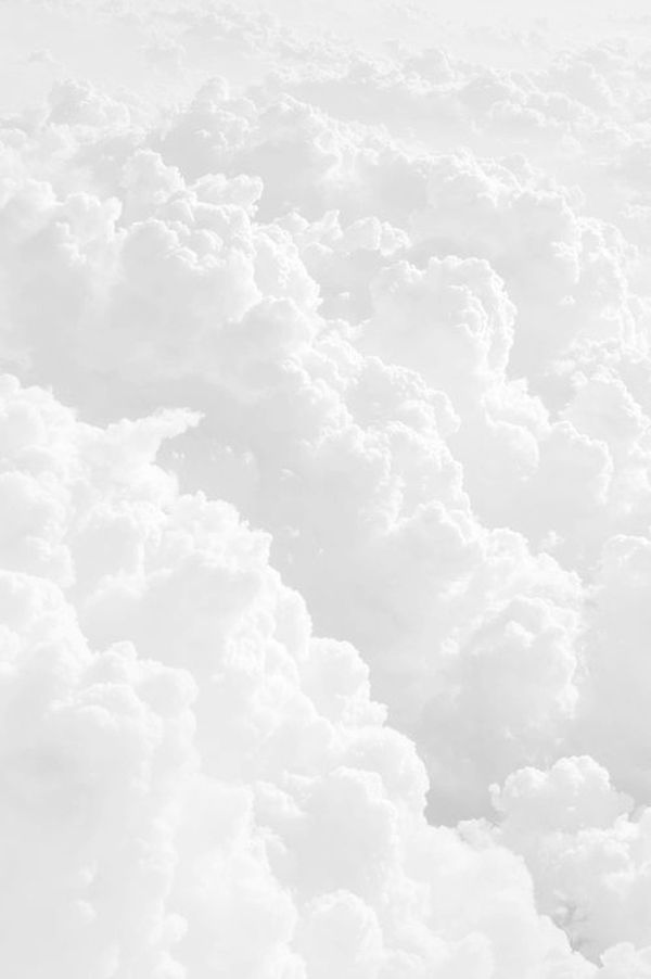 Hearts White Aesthetic White Wallpaper Clouds