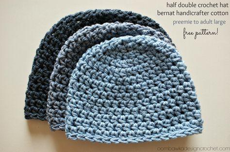 Half Double Crochet Hat Pattern Preemies Free Crochet And Crochet