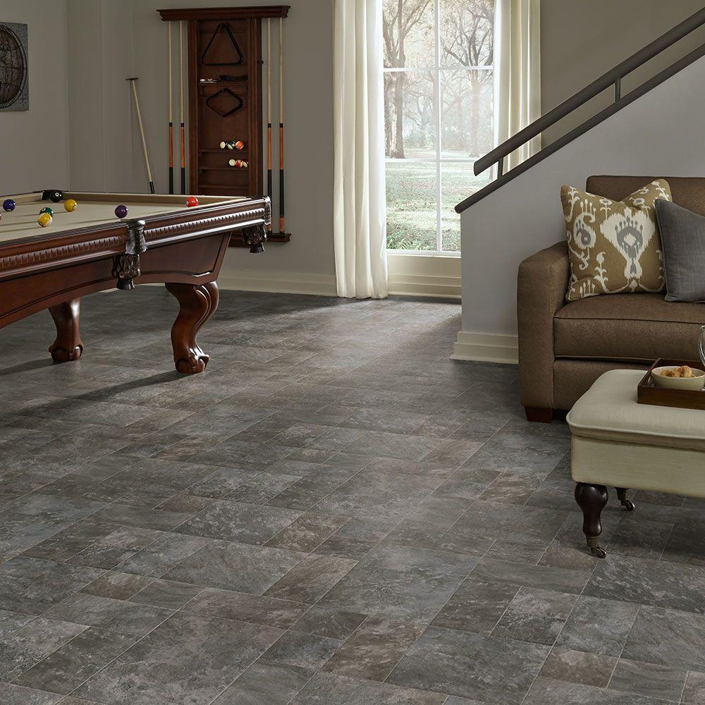 Mannington Residential, Luxury vinyl sheet flooring, Slate