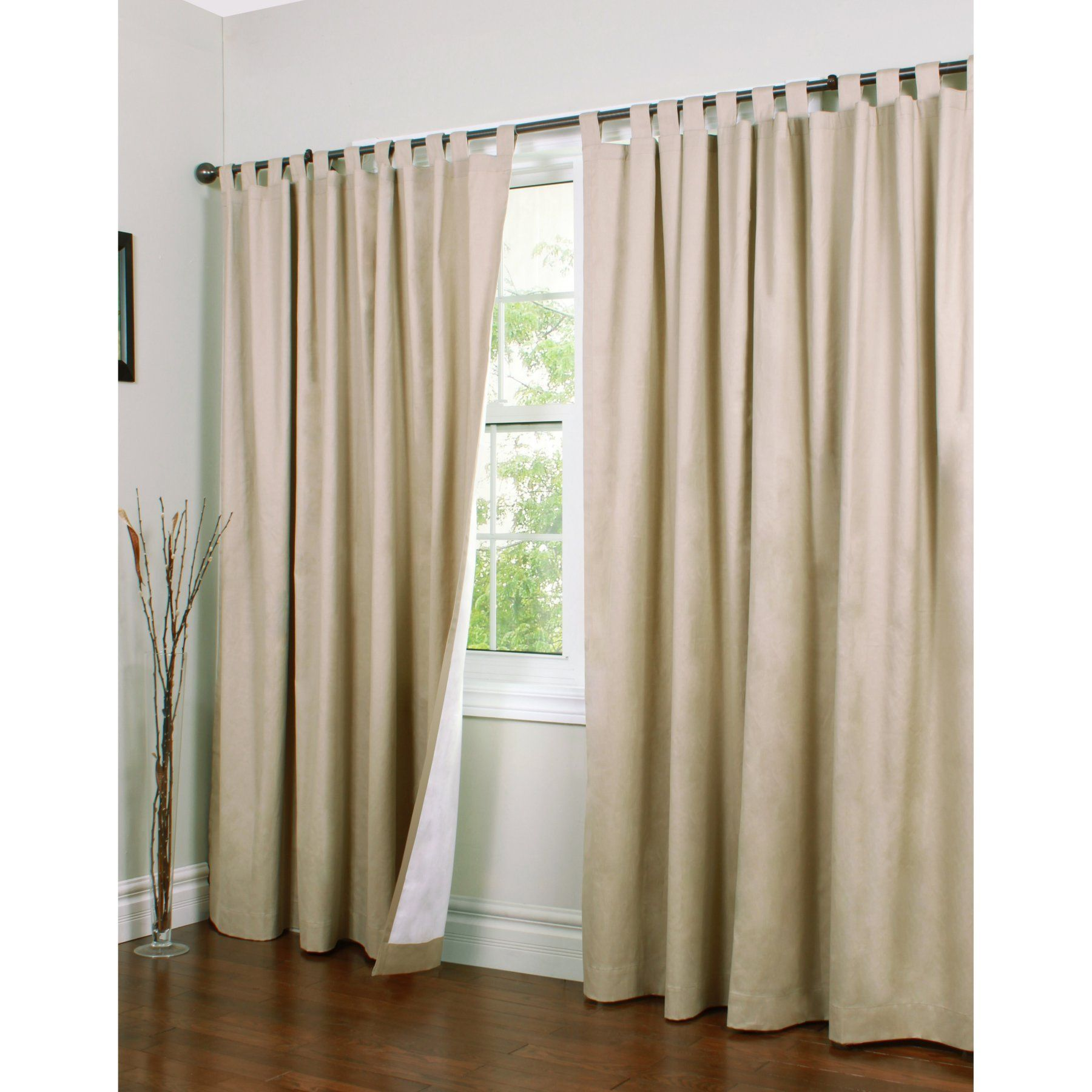 Double Wide Curtain Panels Thermalogic Weathermate Tab Top Double Width Curtain Panel One