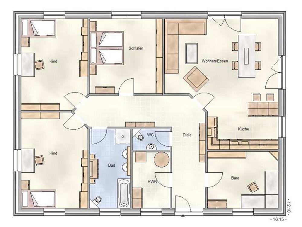 grundriss bungalow 160 qm Grundriss bungalow