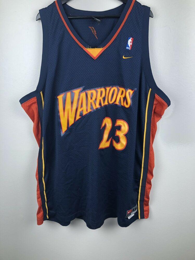 Vintage Jason Richardson Golden State Warriors The City Nike Jersey Size 4xl Ebay Jason Richardson Vintage Clothes 90s Nike Jersey