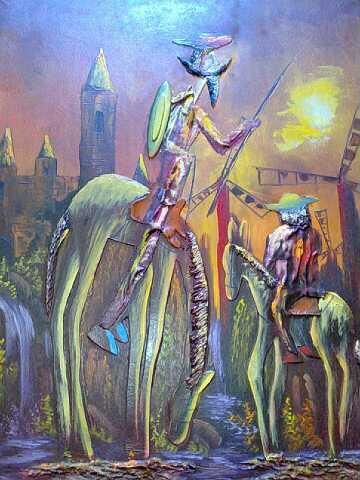 Cuadros De Quijote De La Mancha Don Quijote Dibujo Quijote De
