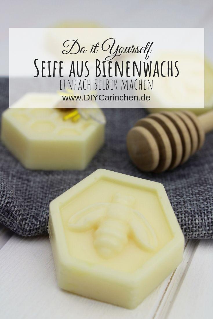 DIY Seife aus Bienenwachs selber machen - schöne Geschenkidee