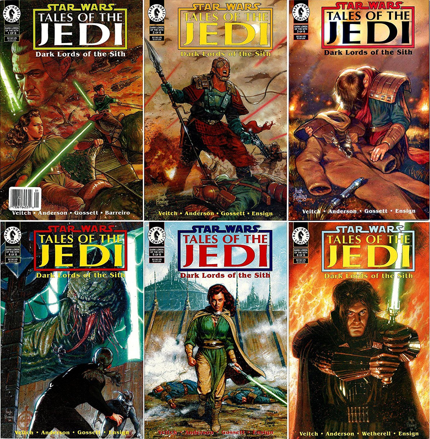 Amazon : Star Wars  Tales Of The Jedi  Dark Lords Of The