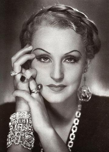 German actress Brigitte Helm, circa 1934.