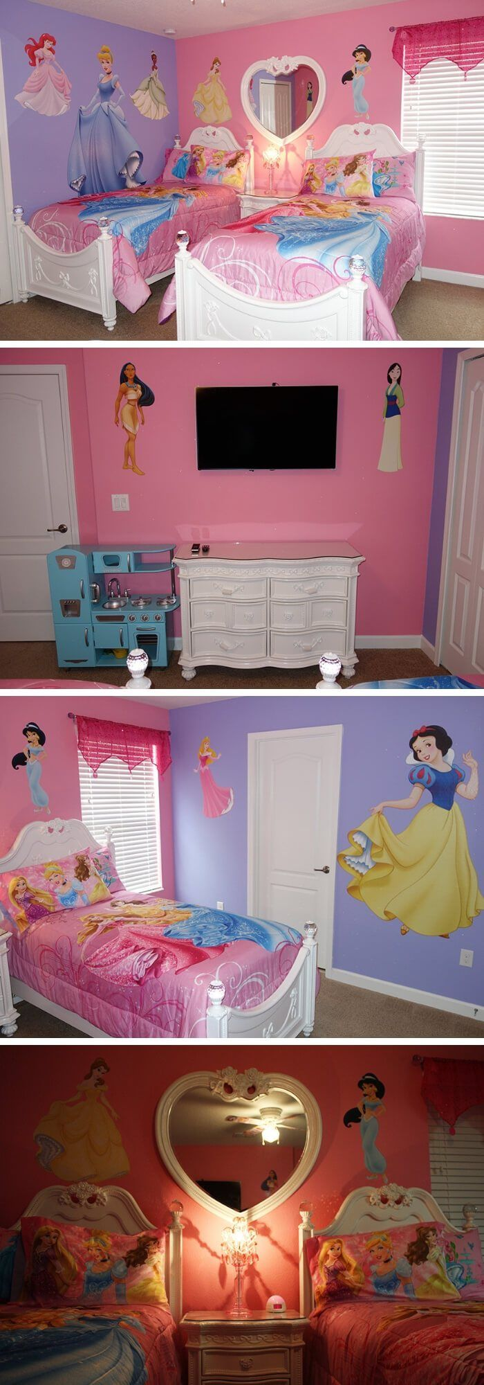 how to decorate a princess theme bedroom use disney nursery decor rh pinterest com