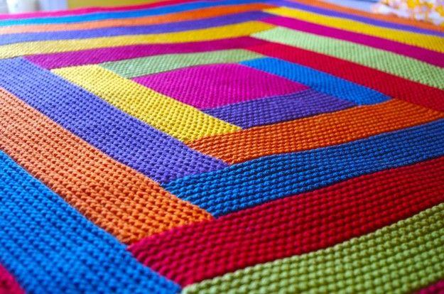 Coperte bambini ~ Coperte di lana cerca con google coperta a righe colorate