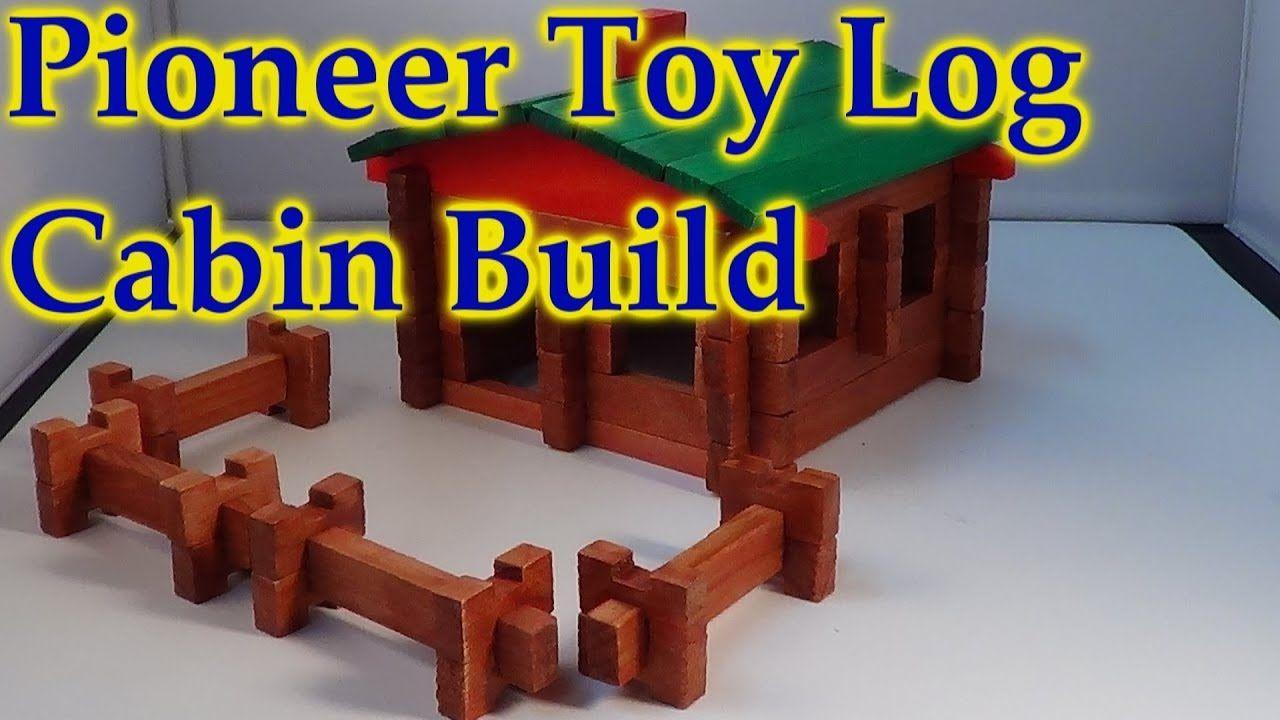 Roy Toy Paul Bunyan Pioneer Log Cabin Open Build Watch