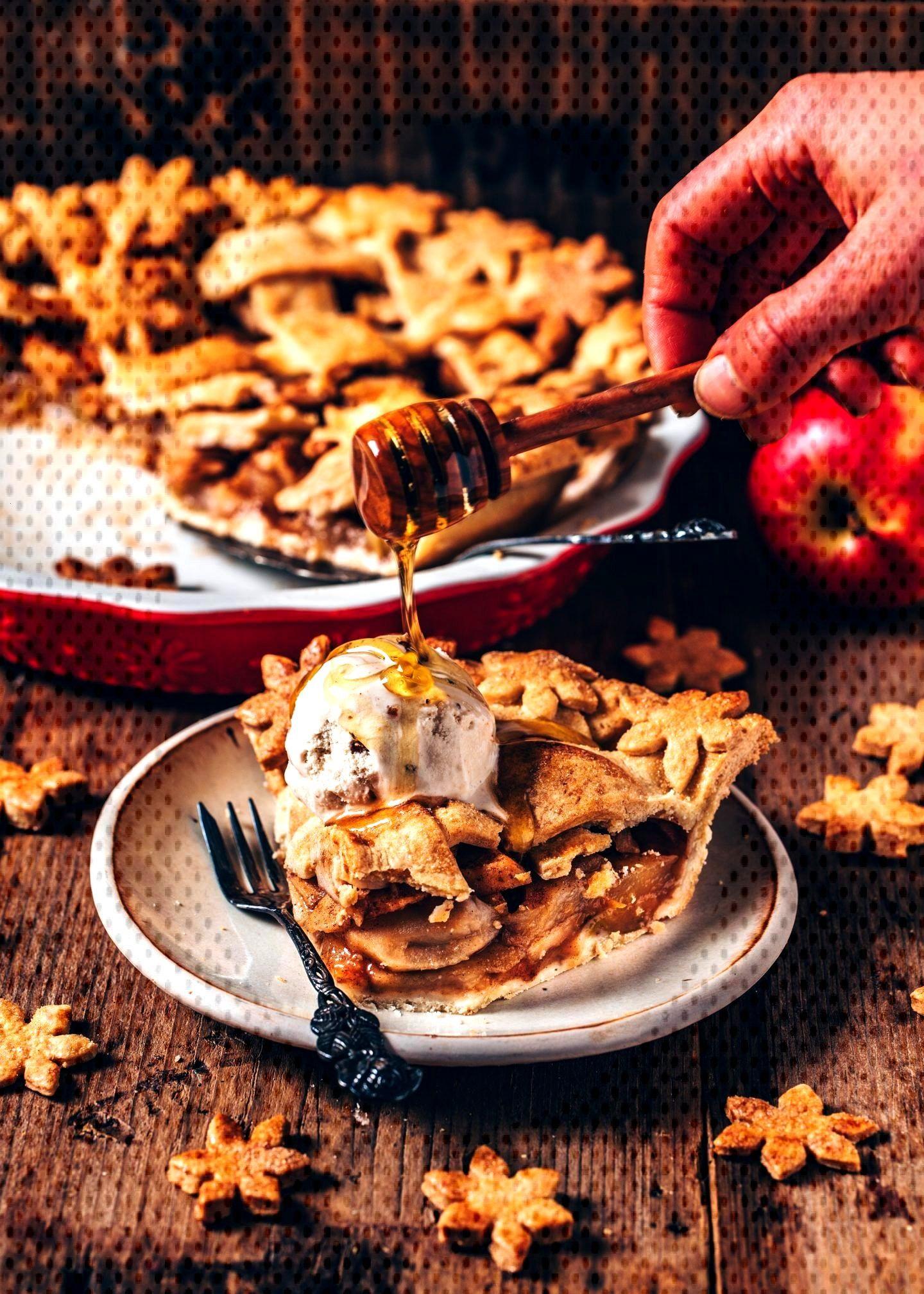 Apfelkuchen (Vegan Apple Pie) – einfaches Rezept recipes Apfelkuchen (Vegan Apple Pie) - einfache