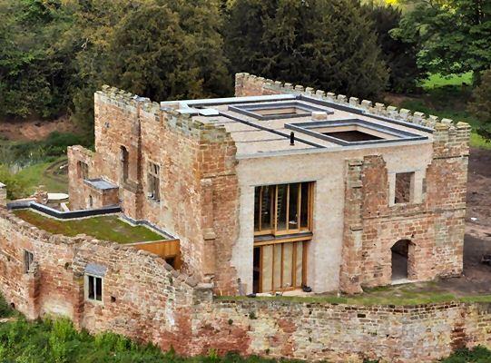 Astley Castle, Warwickshire - Protectahome - Fallstudie zur strukturellen Reparatur #arquitectonico