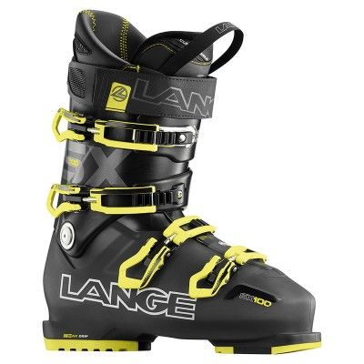 The Lange SX 100 is a wider fitting, higher performance boot that is capable of taking intermediate skiers to the next level. Snug, but not tight, the SX 100 wraps your whole foot allowing for maximum transfer of energy without cutting off circulation. Its 102 mm forefoot width is ample enough for higher volume feet, and the generous instep height relieves pressure over the top of the foot, meaning warmer toes that don't fall asleep.