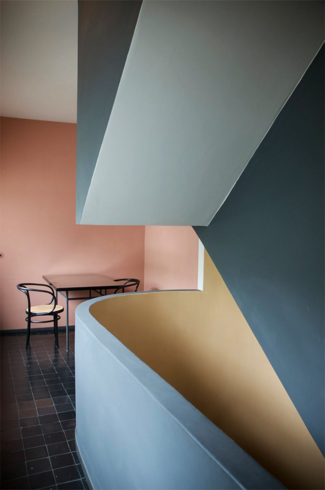 Scandinaviancollectors an interior from weissenhof house by pierre jeanneret le corbusier stuttgart