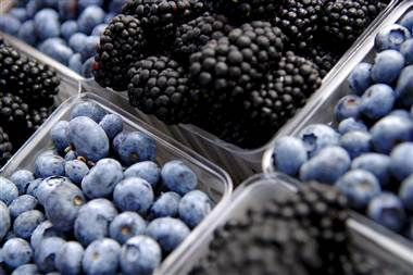 Berry good news: These may protect your brain  (Jonathan Ernst / Reuters file)