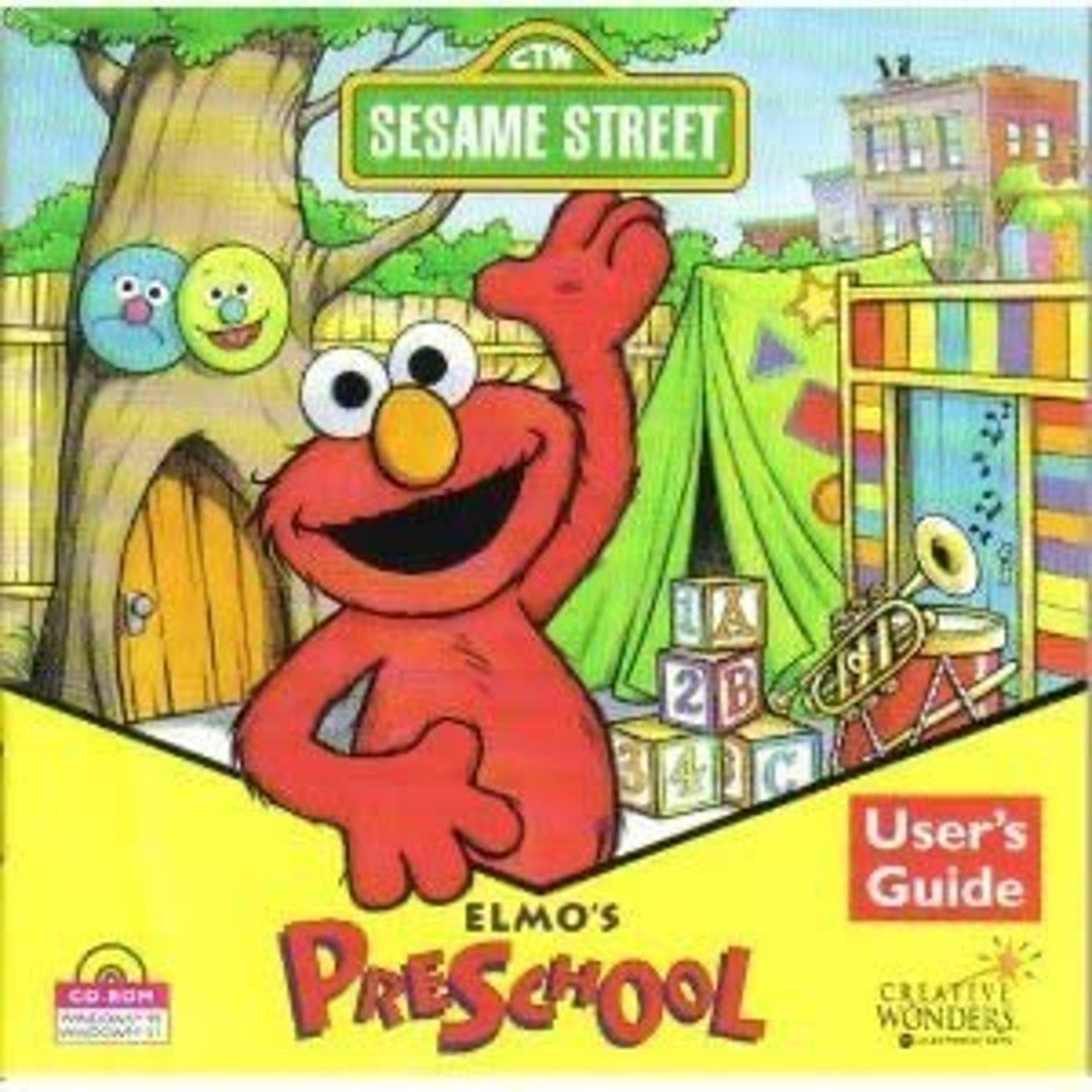 Sesame Street Elmo's Preschool PC in 2020 Preschool