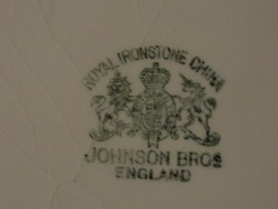 Dating johnson brothers backstamps