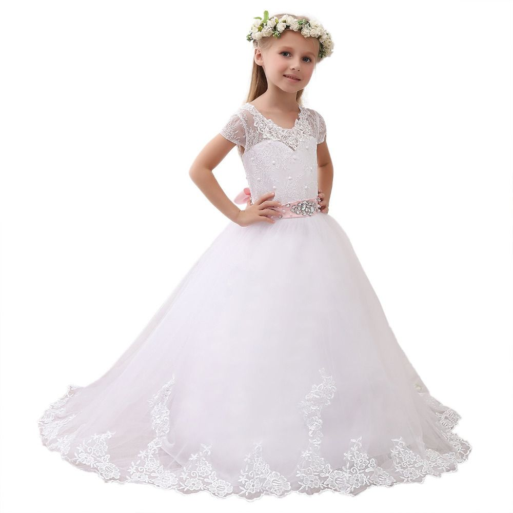 Find More Flower Girl Dresses Information About New 2016 White Ivory