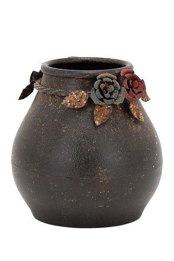 UMA | Large Metal Vase | HauteLook Garden