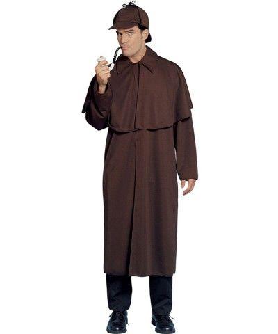Sherlock Holmes Costume Adult Halloween Fancy Dress