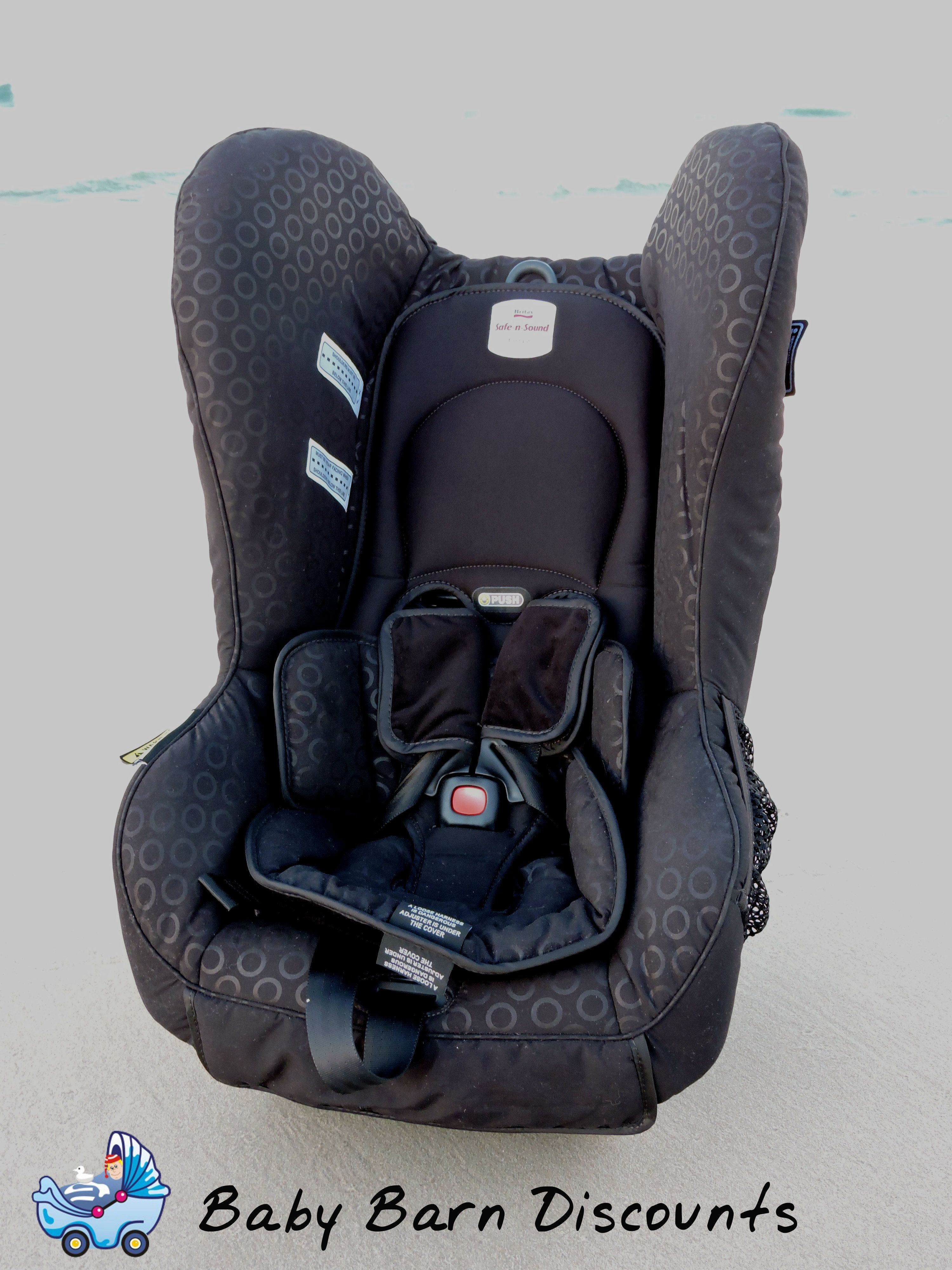 The Safe n Sound Compaq MKII Convertible Car Seat (Black