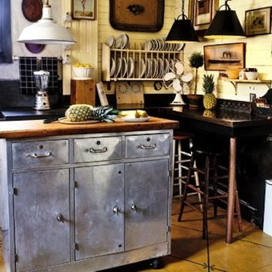 11 clever alternatives to kitchen cabinets bob vila kitchen rh pinterest com