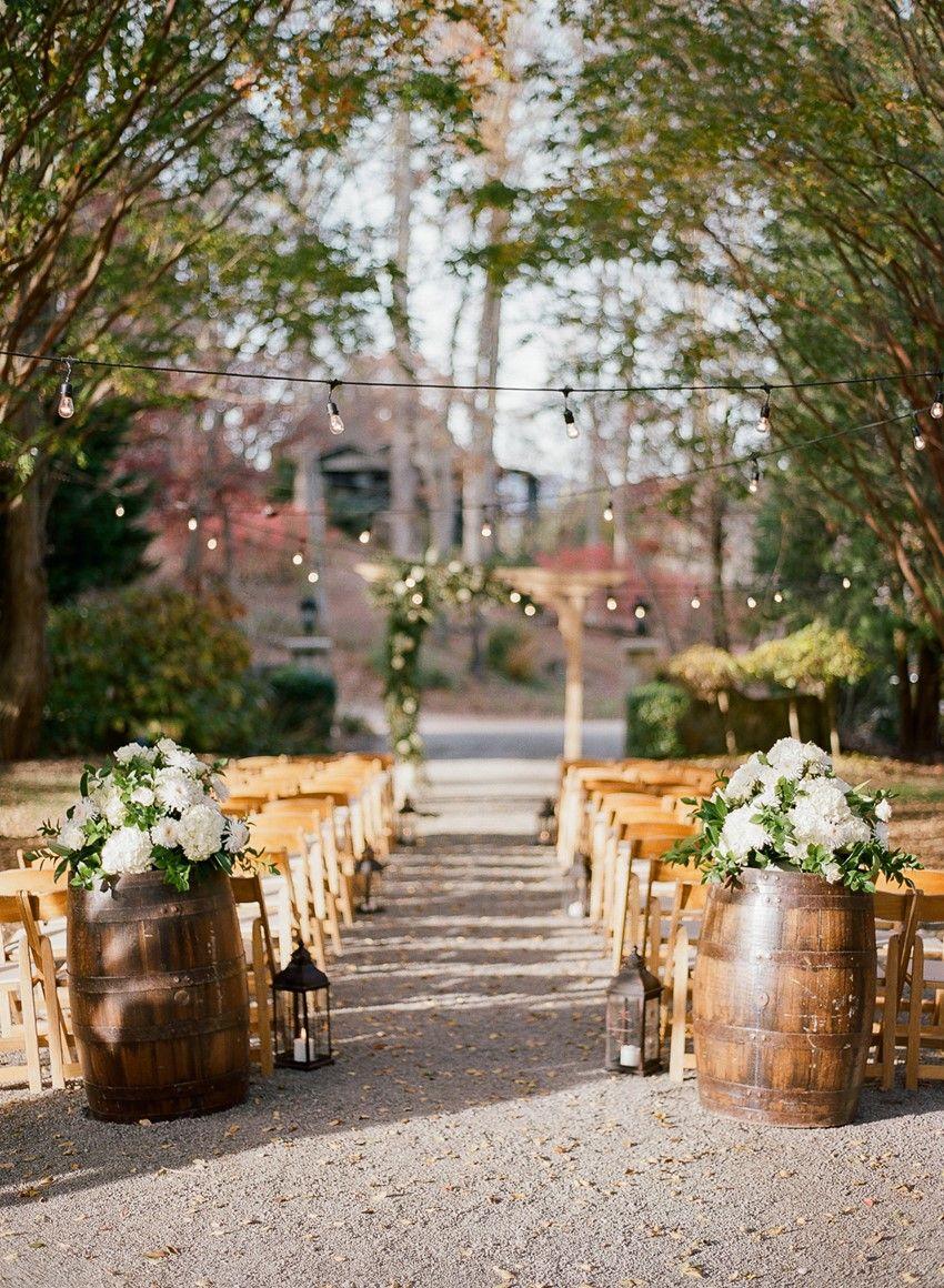 Outdoor Wedding Ceremony Decor: Outdoor Wedding Venue North Carolina At Reisefeber.org
