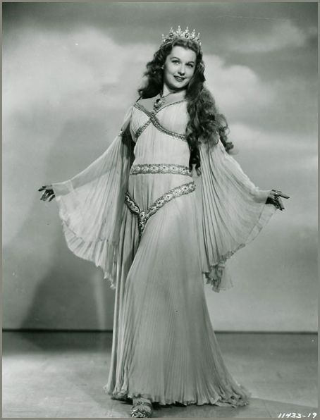 Rhonda Fleming in a Connecticut Yankee in King Arthur's court