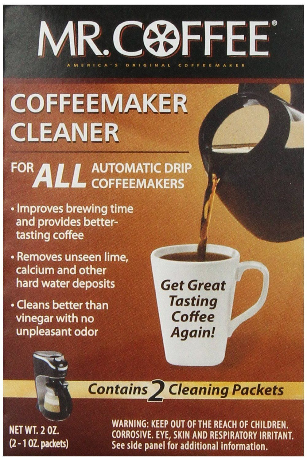 Mr. Coffee Coffeemaker Cleaner For All Automatic Drip