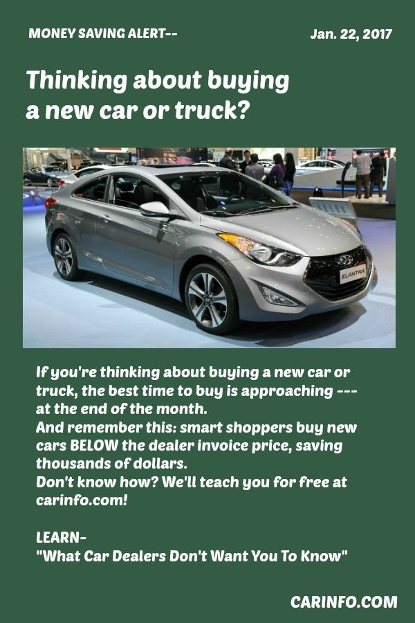 If Youre Thinking About Buying A New Car Or Truck The Best Time To - How much below msrp is invoice