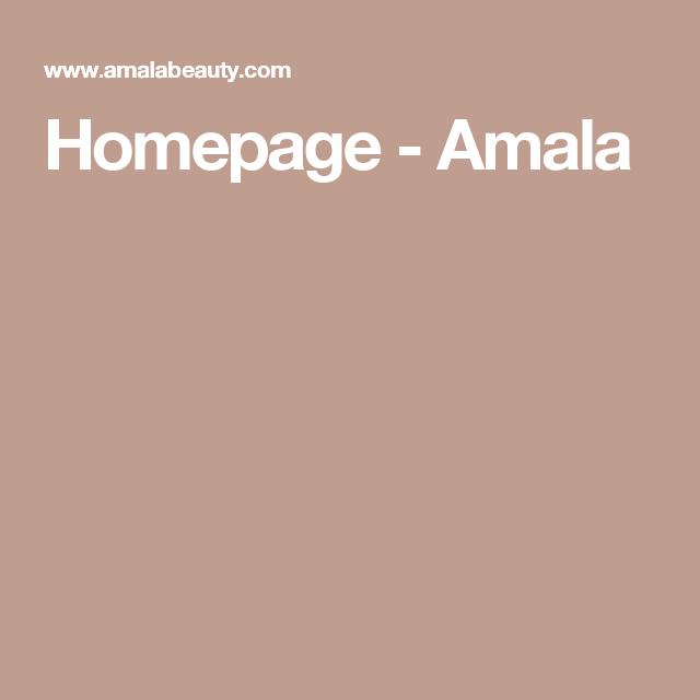 Homepage - Amala