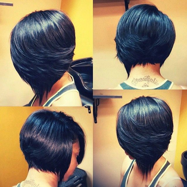 Stylist Feature Love This Quickweave Razorcut Bob Done By