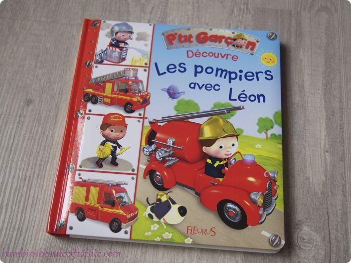 Les pompiers avec Léon - Fleurus ( Chut, les enfants lisent ! )