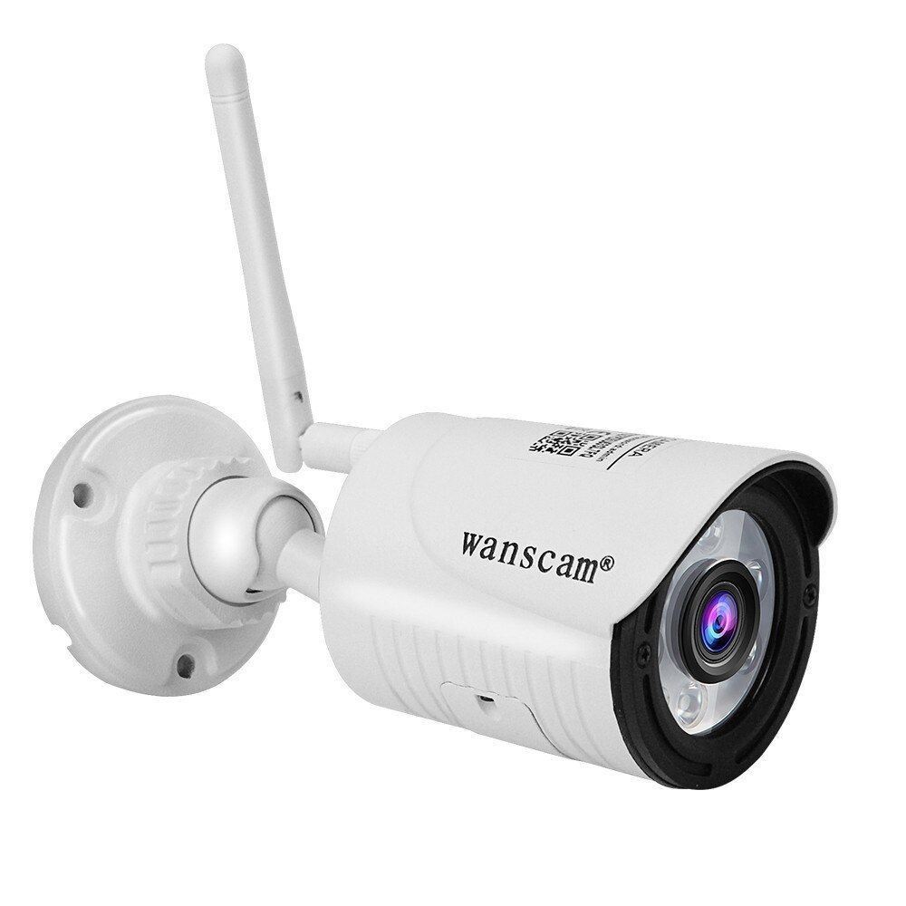 Wanslam Caméra De Surveillance Extérieure Ip Wifi Hd 2mp 1080p Dispositif De Sécurité Sans Fil ét In 2020 Surveillance Camera Surveillance Cameras Video Surveillance