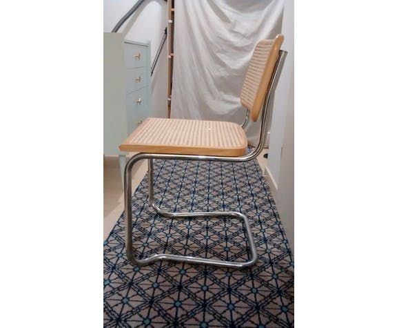 Chaise Cannage Et Htre Massif
