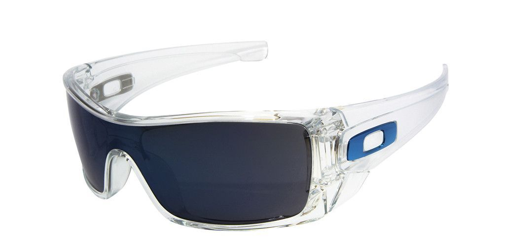 2d2cf85e03 OAKLEY BATWOLF OO9101-07 Clear   Ice Iridium