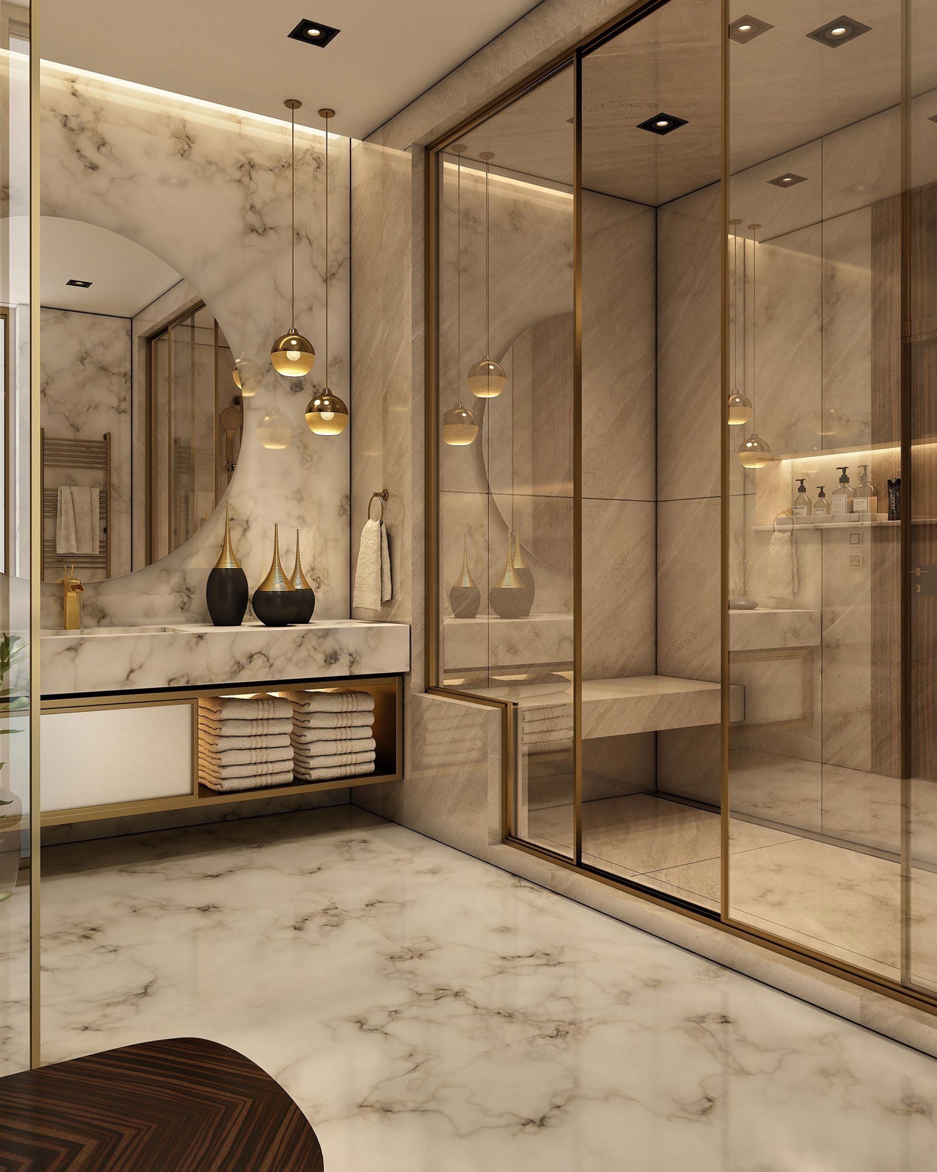 Enchanting Luxurious Bathroom Decorating Ideas 033