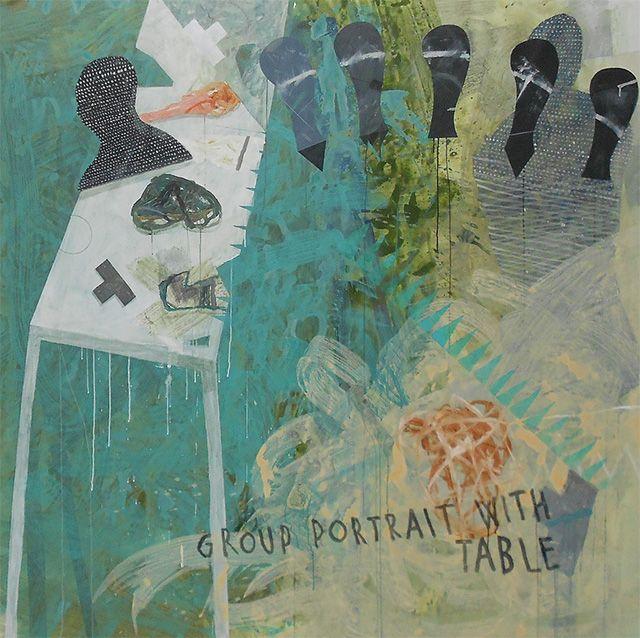 Milenko Prvacki, Group portrait with table