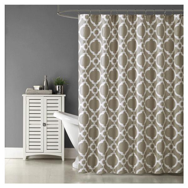Meijer Fabric Shower Curtains Bath Accessories Trellis My Design Bathroom