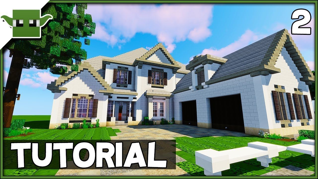 Minecraft 6 Bed Mansion Tutorial Ep2 How To Build A House In Minecraft Https Cstu Io F33c4d Minecraft Mansion Minecraft House Tutorials Mansions