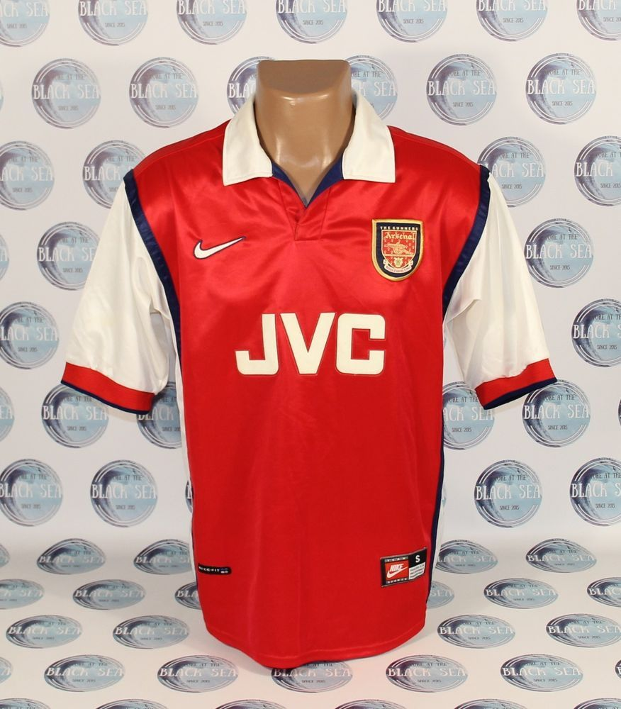 Details about ARSENAL 1997 1998 1999 AWAY FOOTBALL SOCCER
