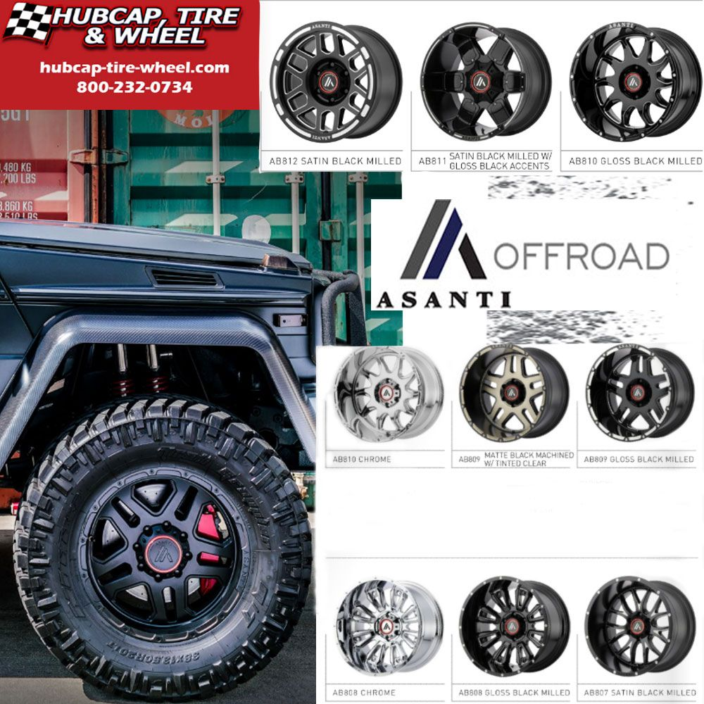 Current Products Of Asanti Offroad Wheels Rims Wheel Rims