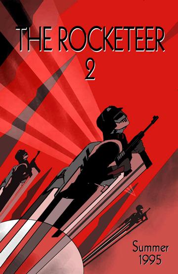 rocketeer 2 teaser poster