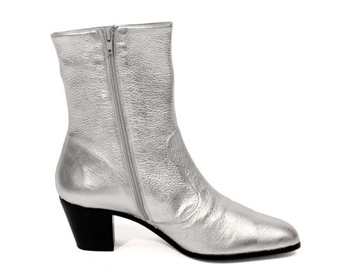 0c519be1ca2fb3 Noel Fielding boots -- ARCHIE EYEBROW BOOTS - silver   gold. xx ...