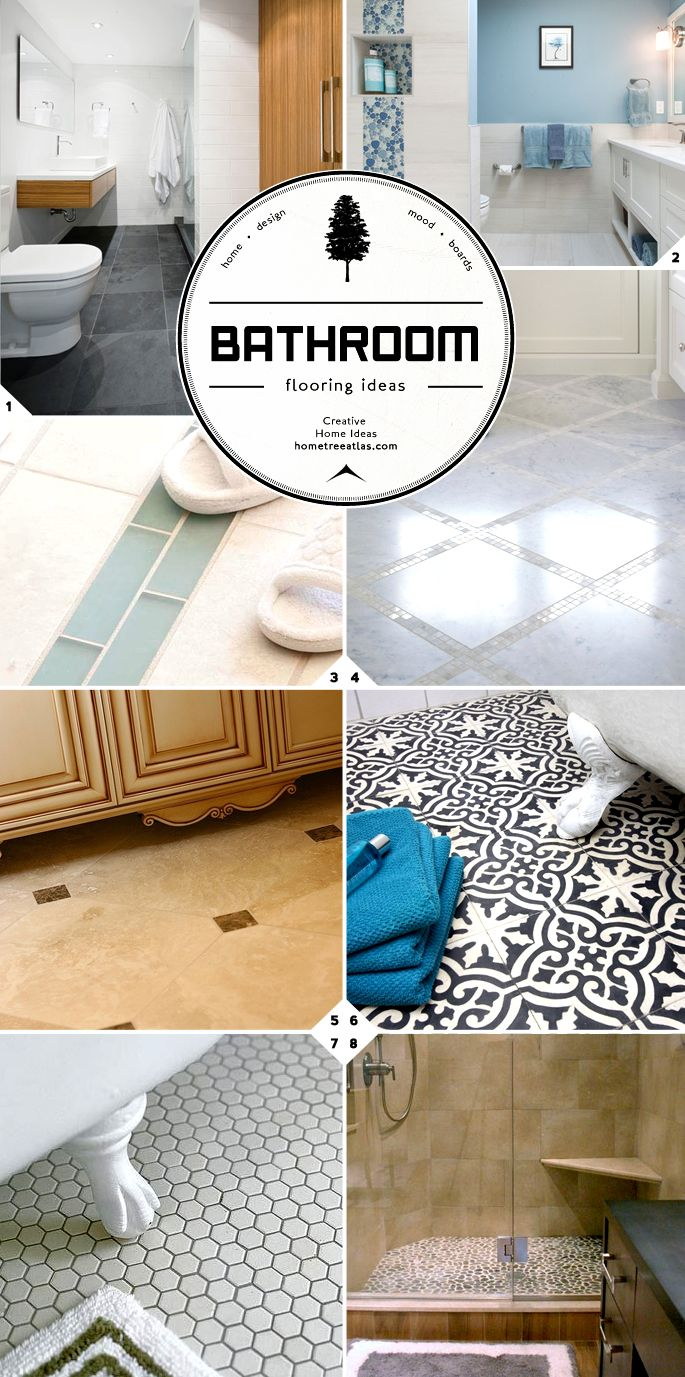 Bathroom flooring ideas guide designs and material - How do heated bathroom floors work ...