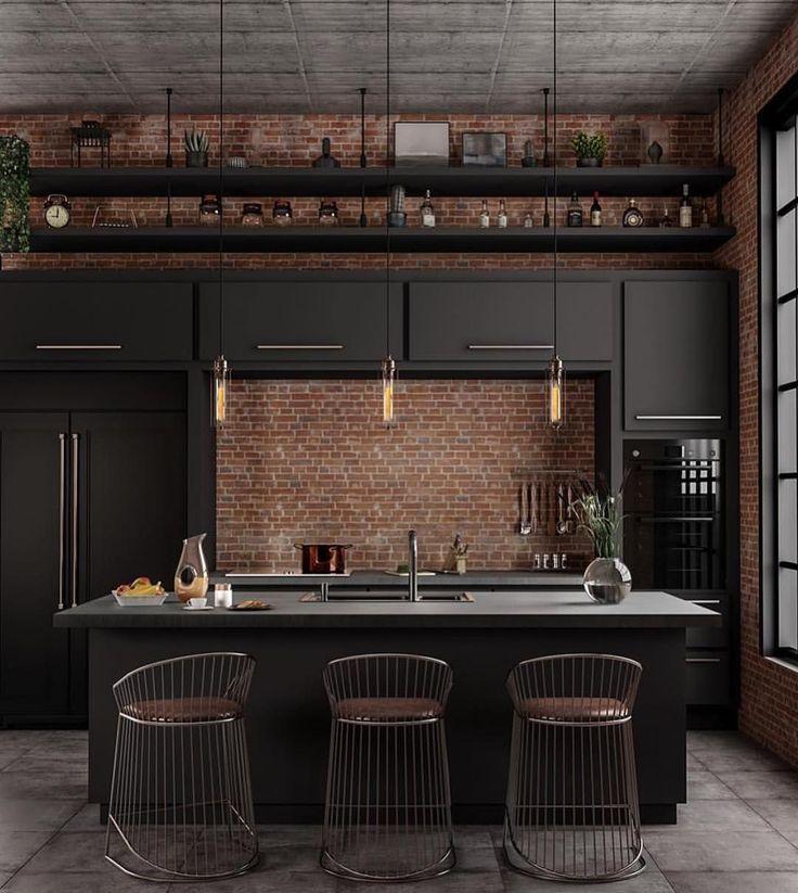 Lichtwelt! | www.delightfull.eu | Besuch für: Küchenbeleuchtung Ideen, Küche ... #rustickitchendesigns