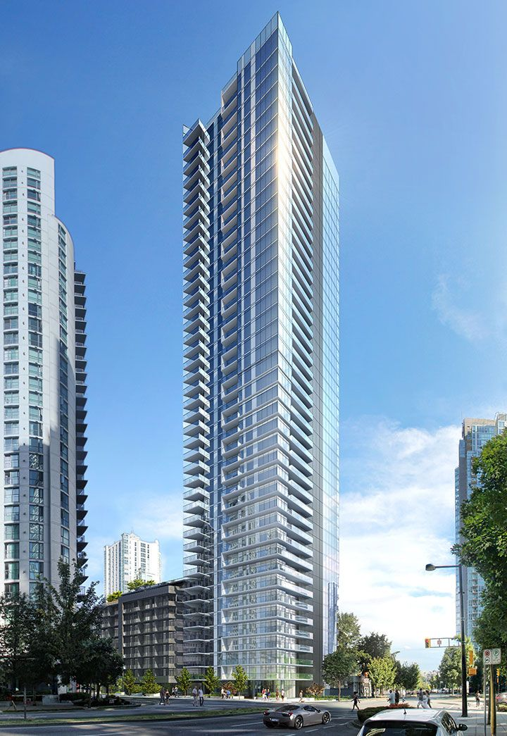 The Charleson residential #condo #highrise tower in #Vancouver #Yaletown