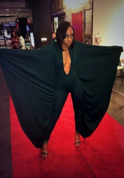 She Can Fly Away from Haters - Wingsuit on the Red Carpet - No Way Girl - WTF  ---- best hilarious jokes funny pictures walmart humor fail